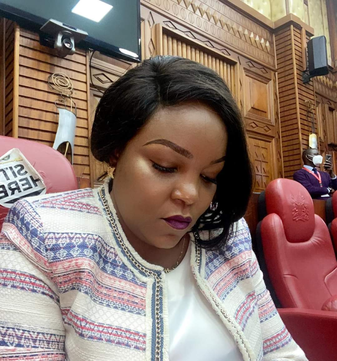 Happening now . Discharging my committe duties. The nominee for the position of Auditor-General Ms. Nancy Janet Gathungu appears before Parliaments Committee on Finance & National Planning for vetting .