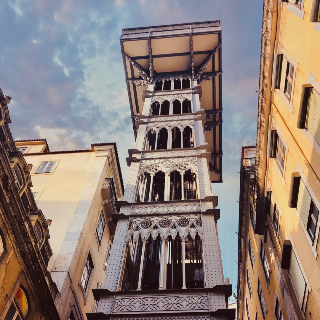 Who's taken a ride on the Santa Justa Lift in #Lisbon? 🇵🇹  Opened around 1899, the outdoor elevator takes pedestrians between the lower streets of the Baixa district and the higher Largo de Carmo - it definitely looks more fun than walking uphill!  #portugal #lisboa #travel https://t.co/haAnaFPQqe
