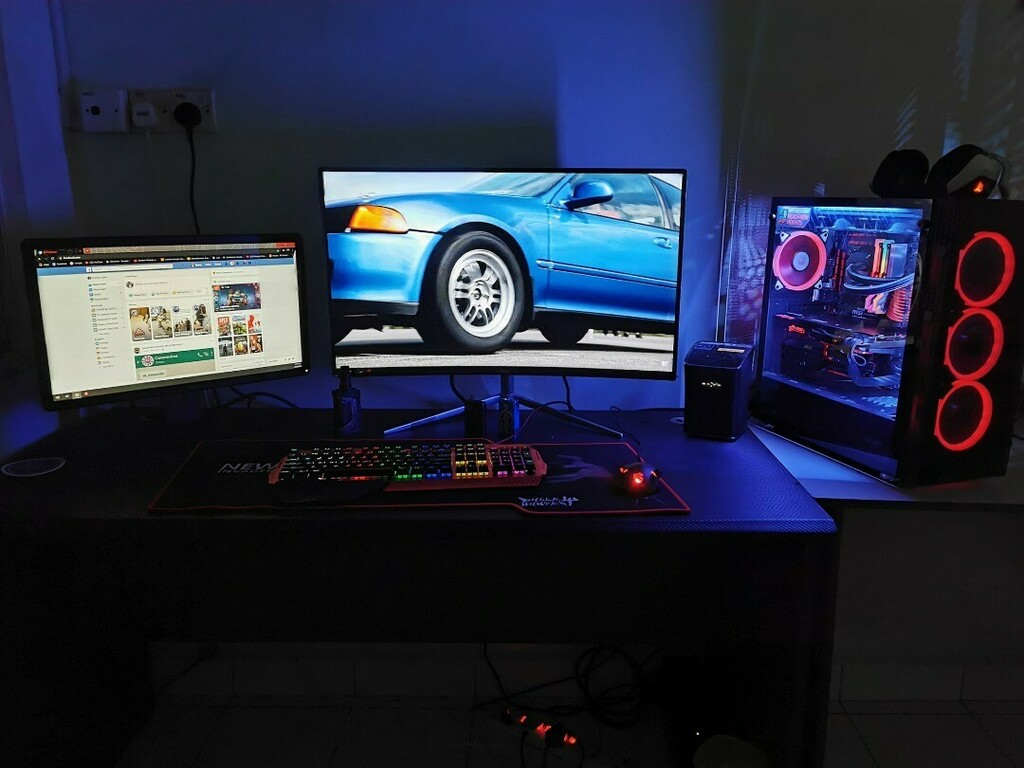 What do you think of this setup ? Do you find MeeTion products ?  #meetion #gamingroom #gamingsetup #pcgaming #gamingstation #pcsetup #mechanicalkeyboardspic.twitter.com/F7gseenMnm