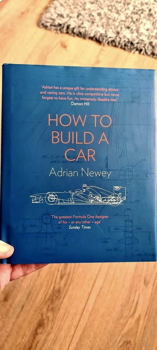 Coffee and a bit of Newey... Bought this a while back, never got the chance to open a page... #formula1 #adriannewey #howtobuildaracecar #reading #chilltime #gumball3000 #gumballlife #gumballfamily #weare22 #hypercars #supercars #classiccars #roadrally #adventure #crosscountries https://t.co/clRY1Pscr4