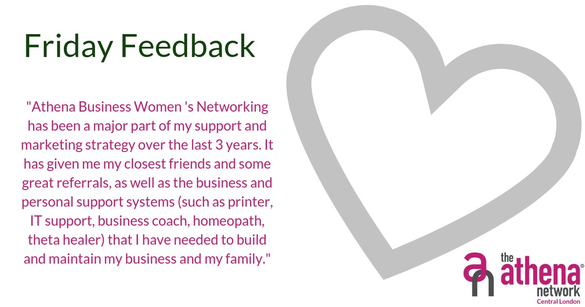 Getting feedback is very rewarding. Here is what one member had to say.   If you would like to make friends and get great referrals as well as business and personal support systems, join us!  #FridayFeedback #Reviews #AthenaCentralLondon #Magentatribe https://t.co/GYrYFnNf7M