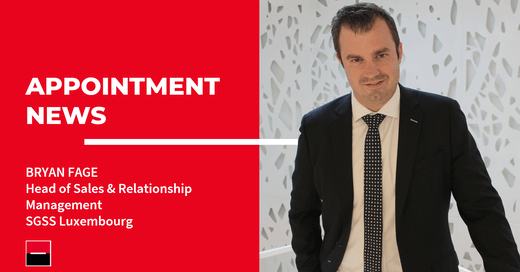 We are  happy to announce the appointment of Bryan Fage as Head of Sales & Client Relationship Management in Luxembourg! https://t.co/wiSV3I96tz https://t.co/65NY1Rtslf