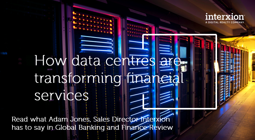 With the increasing importance of data centres for the Financial Services sector, location & proximity has become a factor for businesses & their data processing needs. Data centres such as Interxion London is the perfect for #colocation https://t.co/51Tubt9S9M @GBAFReview https://t.co/SdVmXxwcB0
