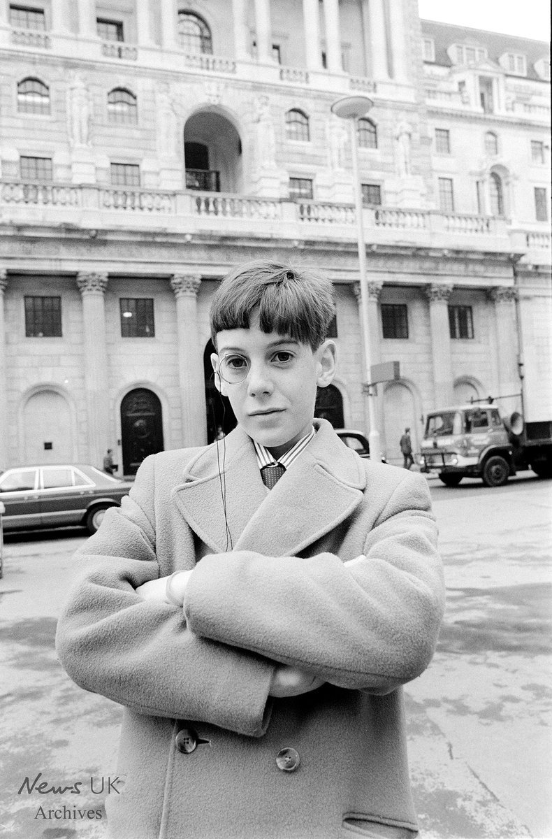 A 13-year-old Rees-Mogg sporting a monocle. Theres a want aboot thon laddie, as my sainted Scottish granny would have said.