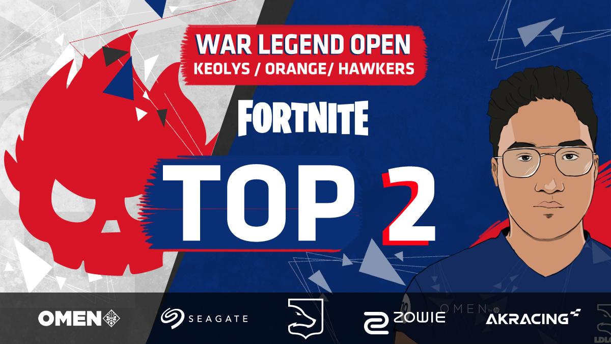 .@KeoIys et ses mates ont participé à la finale War Legend open trio hier soir.   🥈 Ils se sont imposés pour un Top 2 avec 351 points !   GG les gars. 😏🙏 https://t.co/Fup1NPjYAK