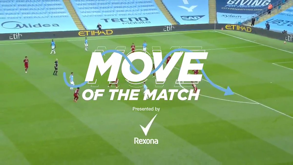 The 'Move of the Match' was undoubtedly this moment of telepathy from @DeBruyneKev and @PhilFoden 🔥  ⚽️ @Sure 🔵 #ManCity https://t.co/CnEi4XFFv7