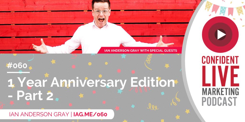 1 Year Anniversary Edition – Part 2 trbr.io/n8nOYHL via @iagdotme