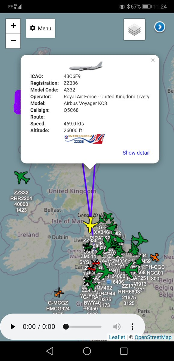 After Supporting @RAFLossiemouth Typhoons On A #QRA   #ZZ336 - #Q5C68 - Is Returning Back To @RAFBrizeNorton https://t.co/AhmXU3Ki85