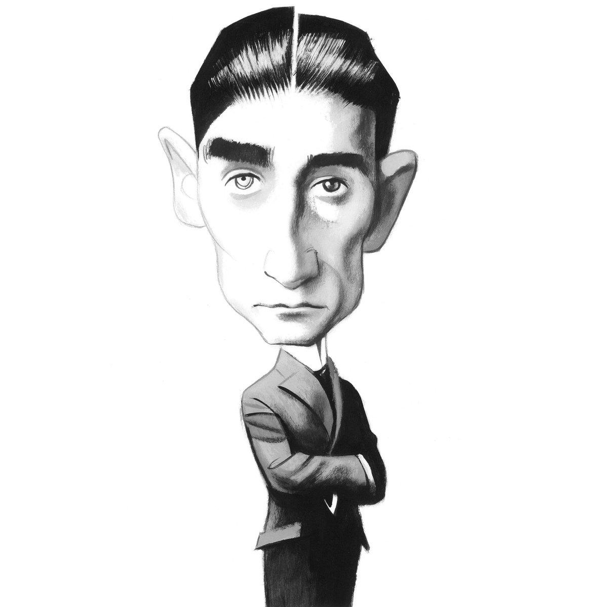 #TalDíaComoHoy en 1883 #FranzKafka https://t.co/3gFLEan5zK