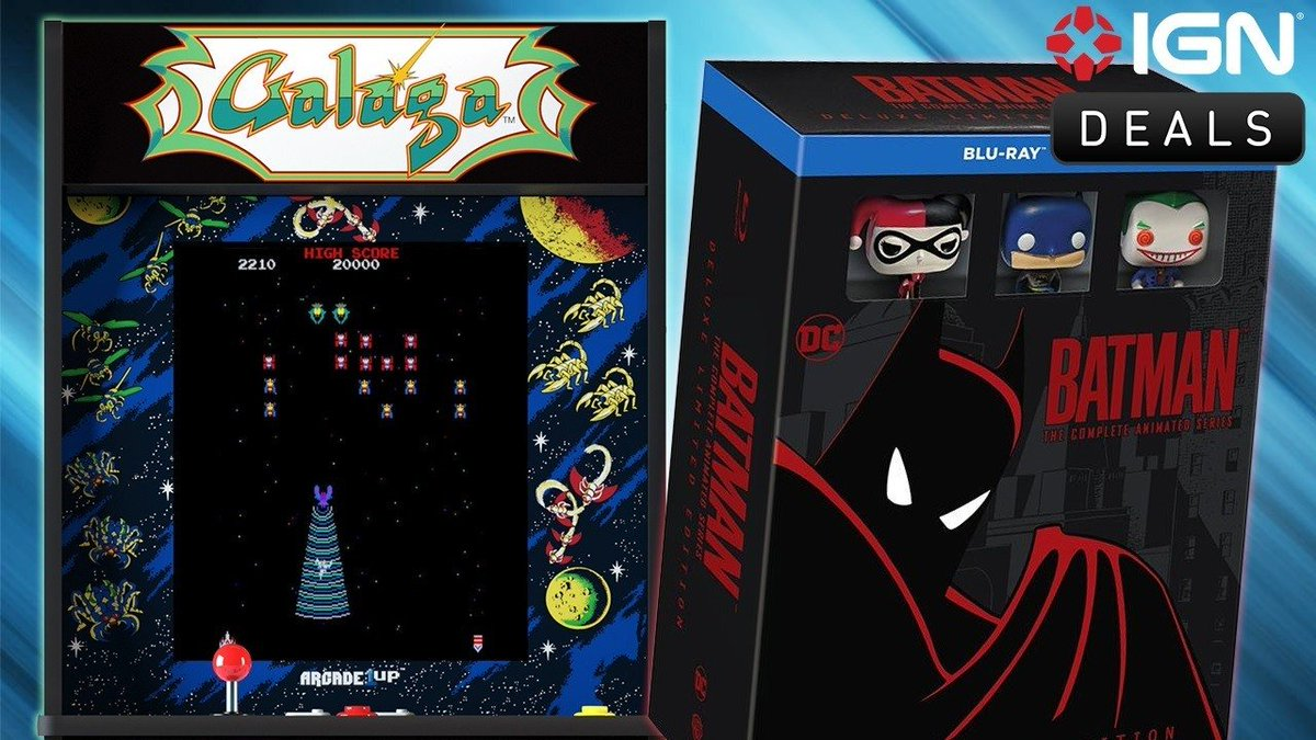 Daily Deals: $100 off Galaga Arcade1Up Machine, Batman Animated.... #Nintendo #gamerslife http://bit.ly/2QaWyljpic.twitter.com/wqxMjig71f