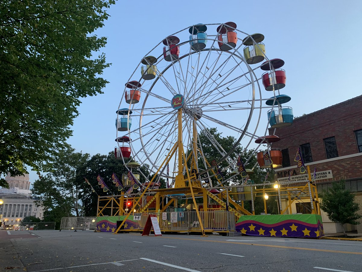 Salute to America, Jefferson City's annual Fourth of July celebration, starts today. The parade, carnival rides and concerts will still happen this year, but with reminders of social distancing. Some events were cancelled due to timing and safety concerns. @KOMUnewspic.twitter.com/9rosiqdiSZ