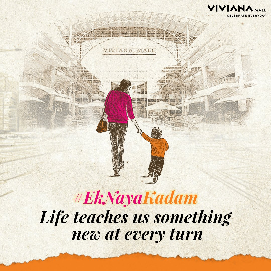 A new beginning is often disguised as a glimmer of hope! Despite the tough times we have learned to take #EkNayaKadam towards embracing the good in life. So, tell us about that one positive thing you've learnt in these past few months. #VivianaCares #VivianaMall https://t.co/H3rqHNqmQ9