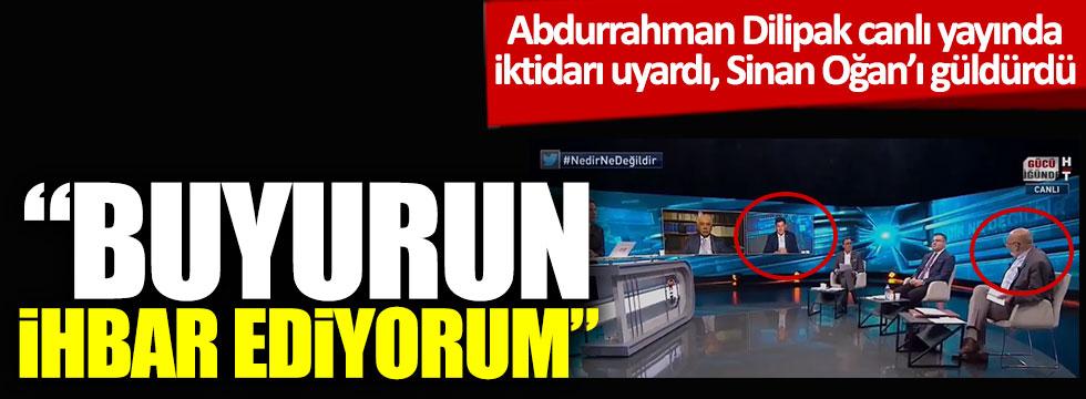 """Abdurrahman Dilipak canlı yayında iktidarı uyardı, Sinan Oğan'ı güldürdü: """"Buyurun ihbar ediyorum""""  https://t.co/nJdBrBn9iw https://t.co/aGim7WaQ6d"""