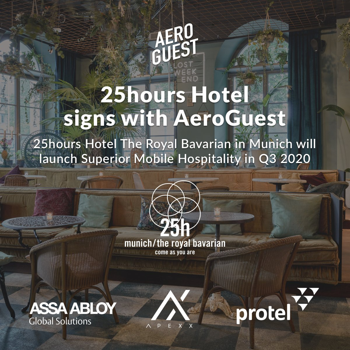 Welcoming advanced #mobile #hospitality to @25hourshotelspic.twitter.com/SmlwRUmFme