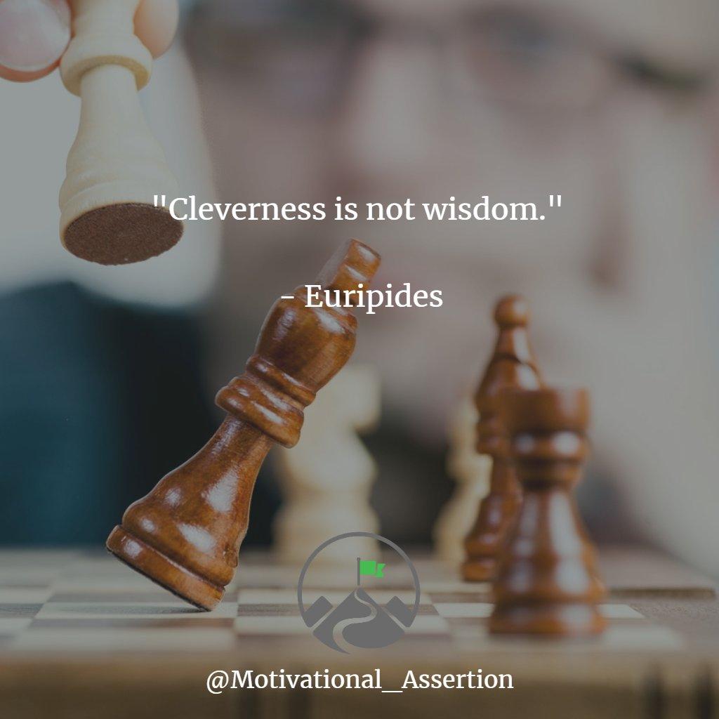 """Cleverness is not wisdom""  Type ""YES"" if you agree!⠀ ⠀⠀ #inspirationbusiness #unconditionalmotivation #hustleforthatmuscle #quotes4you #successminded #mindsetcreator #bussinessmind #quoteoflife #nevergiveupquotes #hustleandgrind #quotelifepic.twitter.com/kj9xrVeDx0"