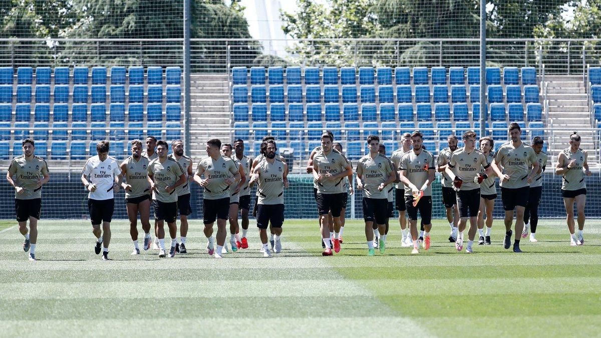 💪🌱 بدأت تدريبات الفريق في #RMCity. #هلا_مدريد | #RMLiga https://t.co/9C2TxORNmM