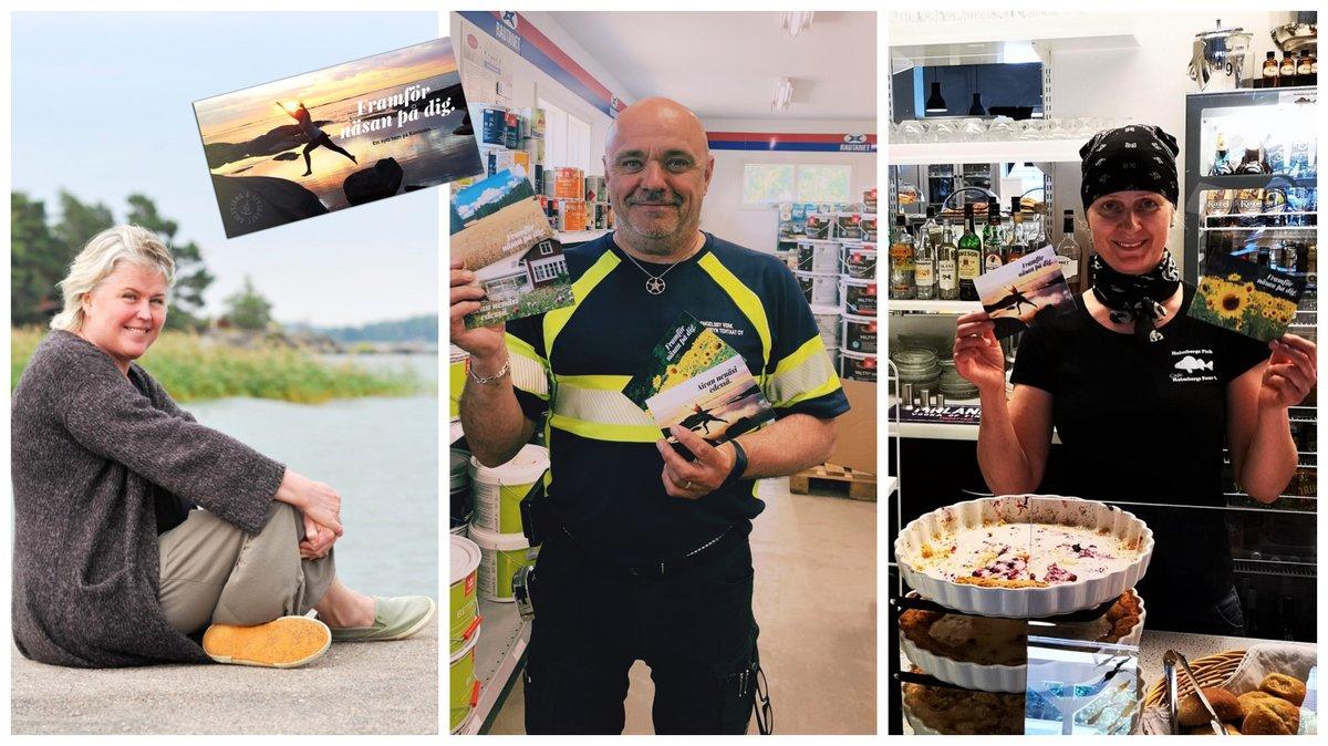 Piia, Jussi ja Carina lähettivät tervehdyksen Kemiönsaarelta – lähetä sinäkin omasi! ☀️ Tunnetko jonkun, joka kaipaa maalle ja saaristoon? Lähetä ystävällesi postikortti! Kirjoita oma tervehdyksesi ja lähetä digitaalinen kortti 👉 https://t.co/zcdW1zAtOg pic.twitter.com/RuXR3D0c6o