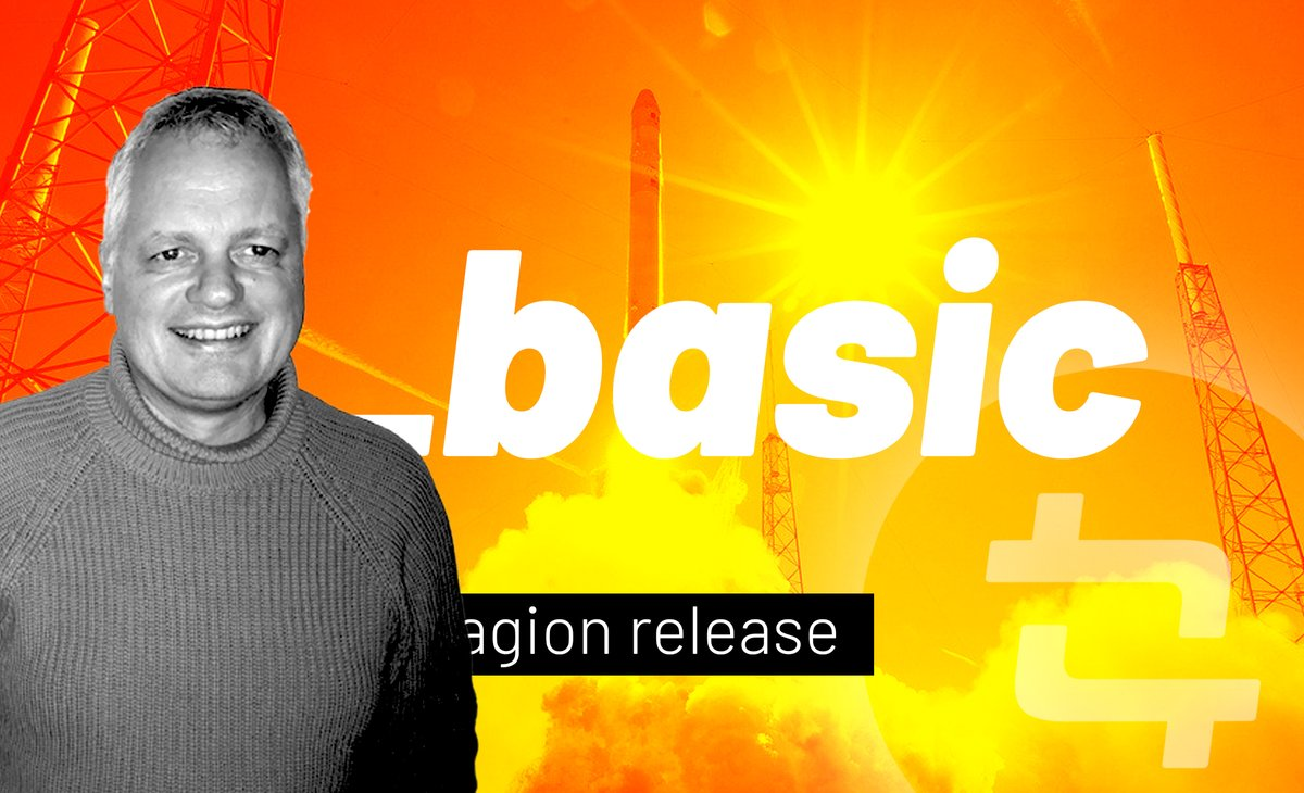 """CTO Carsten Rasmussen: """"The Tagion_basic release is not much in it's self, but it is the foundation for all our future releases'""""  #Tagion is going #opensource! Check out our first module on #GitHub!  Find it here https: https://t.co/dL8mDbcaZi https://t.co/EGhupR6Dow"""