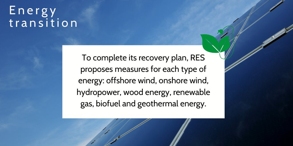 "📈 Renewable energies, an indispensable lever for economic recovery! For RES, renewable energies are presented as ""an essential lever for economic recovery"". ⤵️ https://t.co/v9gGj3OHj5 https://t.co/IIiXHuaUXj"