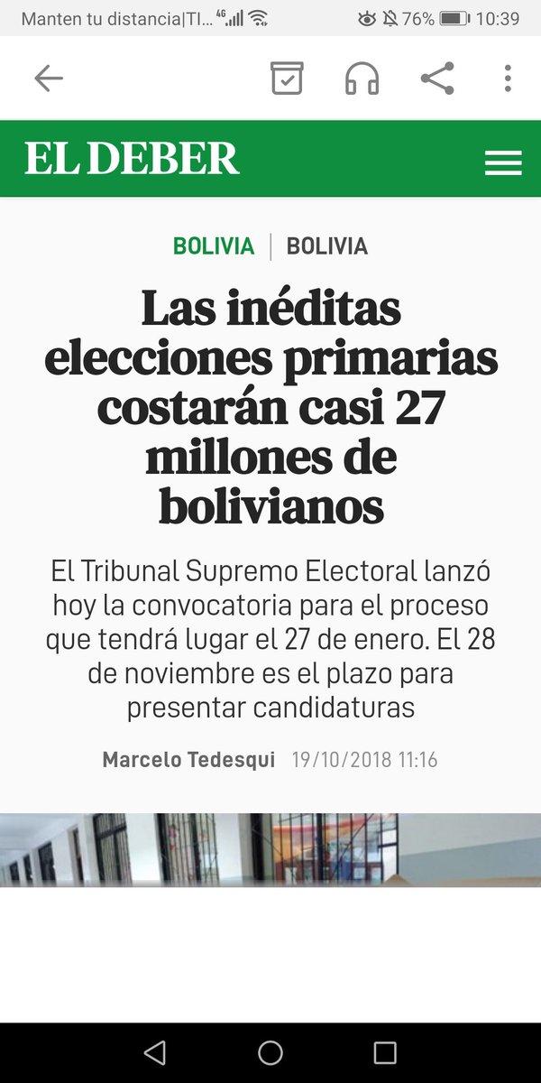 """Para que el tirano Evo viole Constitución, desconoza 21F y robe Presidencia, su cajero Luis Arce malversó Bs 27 Mill. para primarias Ene'19, y Bs 217 M para fraude Oct'19. Ahora Arce recibe Bs 11 M de """"premio"""" del @TSEBolivia. Ladrones Masistas, devuelvan Bs 244 M del fraude. https://t.co/xG1fjoeVVn"""