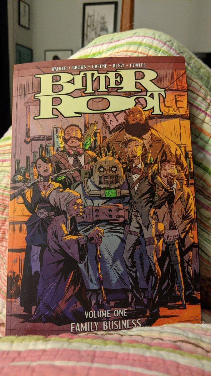 Read good comics. #BitterRoot