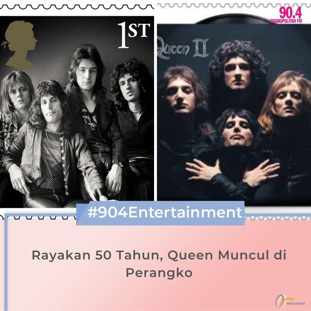 Grup musik Queen akan muncul dalam perangko di Inggris pada Juli 2020. Hal itu sebagai bentuk perayaan 50 tahun karier mereka. Akan ada 13 set perangko edisi Queen yang akan dikeluarkan. #SahabatPerempuan #TetapMRApat #KembaliKeStudio #RadioLawanCovid19 https://t.co/YEiqxpKND7