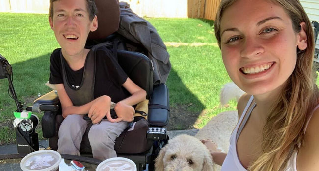 Laughing at My Nighmare: Living with Spinal Muscular Atrophy. Shane and Hannah live their lives to the fullest, helping others with disabilities, and sharing their joy and humor. https://t.co/rMgeF41tnZ #sma #datadefeatsdisease #clinicaltrial #research https://t.co/ATFEmQh9EZ