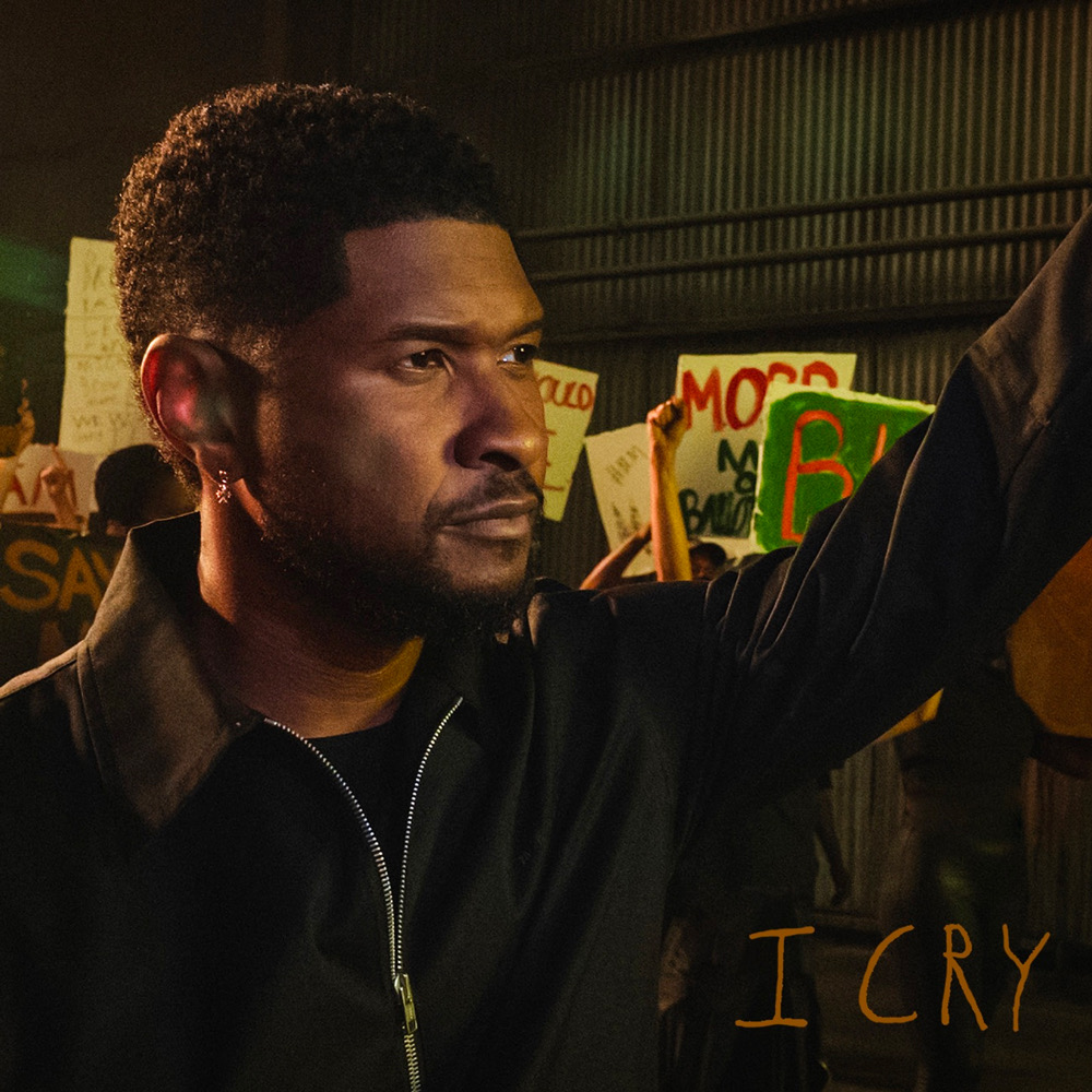 """Usher shares his emotional new song """"I Cry"""" in response to the innocent Black lives lost. Listen: https://t.co/G8awhHRV7D 🖤 https://t.co/bmTkh60I9w"""