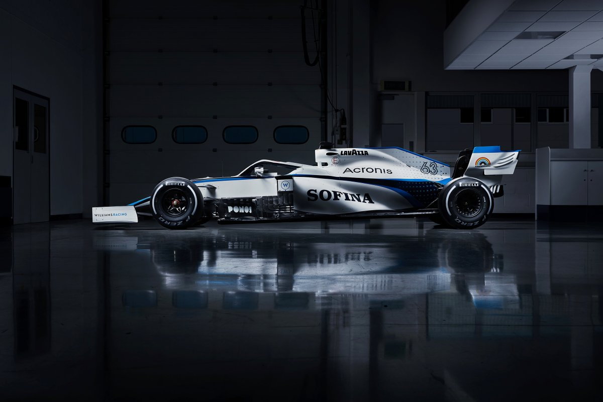 Our new look for the season ahead 👊  #WeAreWilliams 💙 https://t.co/oVs8VEKP8e