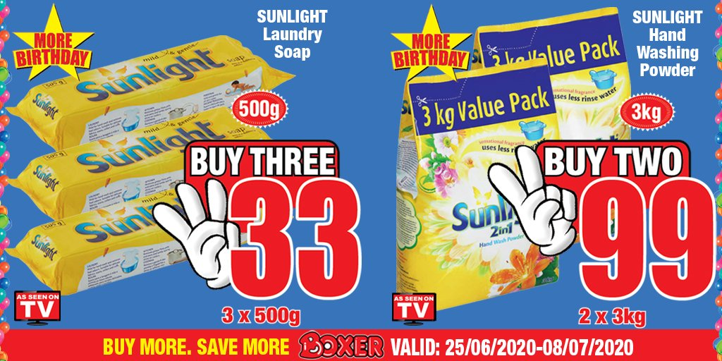 Come celebrate our Birthday with us this weekend with great deals like these and so much MORE…thanks to More Boxer Birthday! https://t.co/r1W9rbNdKP