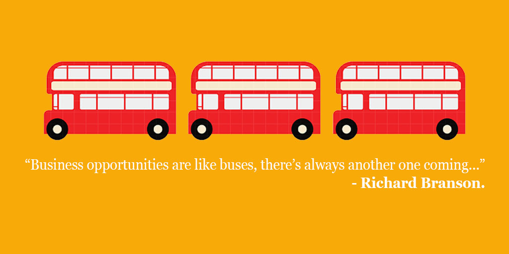 Business opportunities are like buses, there's always another one coming' Richard Branson  Learn more @DigitalU_ https://t.co/cFyePeKWIa  #Digital #DigitalU2020 https://t.co/dQoIBWVHCN