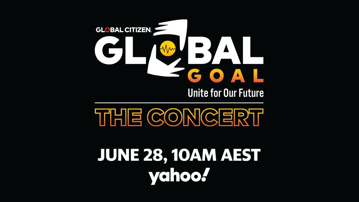 It's time to fight for the world we want. #GlobalGoalUnite for Our Future is a concert hosted by @glblctzn, premiering on June 27, that will share what we can do to create a better and healthier future for everyone, everywhere. Join us: https://t.co/6tprZmxQbI https://t.co/BIe3zazfJB