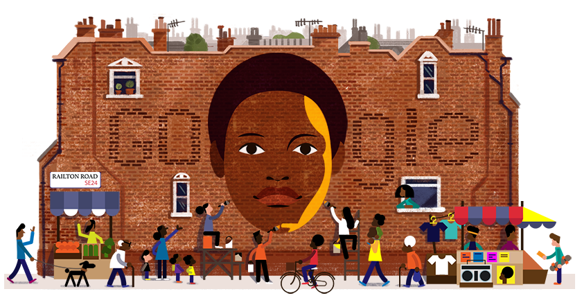 Today's #GoogleDoodle honours Olive Morris' 68th birthday, Brixton's pioneering activist and community leader who dedicated her life to fighting for racial, gender and social equality. Learn more → https://t.co/l1MsYeZYWK https://t.co/yoSQnqfQV0