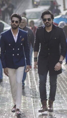 Happy birthday Superstar! May Allah bless you and give you health, happiness & more success @fahadmustafa26