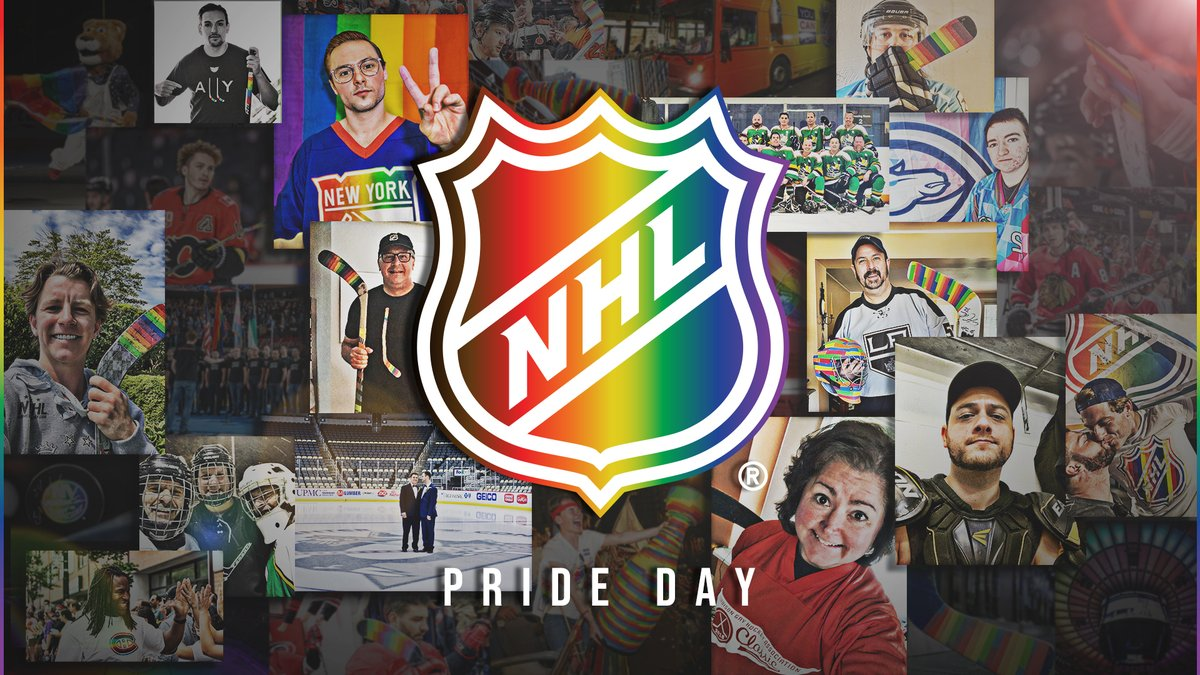 We celebrate YOU.  Be loud today and show us your PRIDE! ⬇️ #HockeyIsForEveryone https://t.co/zbTxKgUuPl