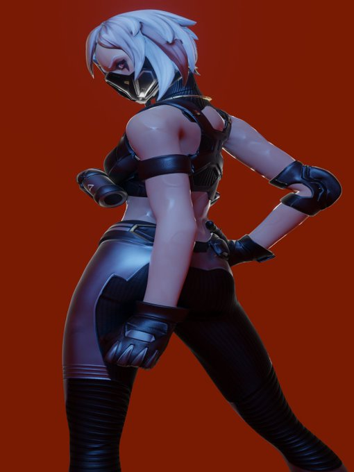 Can we take the time to appreciate that fortnite has made some sexy female models model made by @gifdoozer
