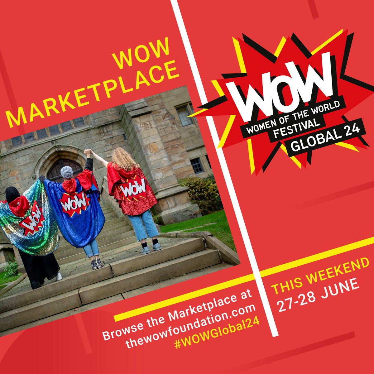 Head over to WOW's online Marketplace with @JanetsList to see the incredible work of Black and women of colour led social enterprises including @irenemoore_  - Special thanks to WOW's Hour Partner @Virgin @VirginStartUp for their commitment to female-led businesses https://t.co/YV5ZhrFuGO