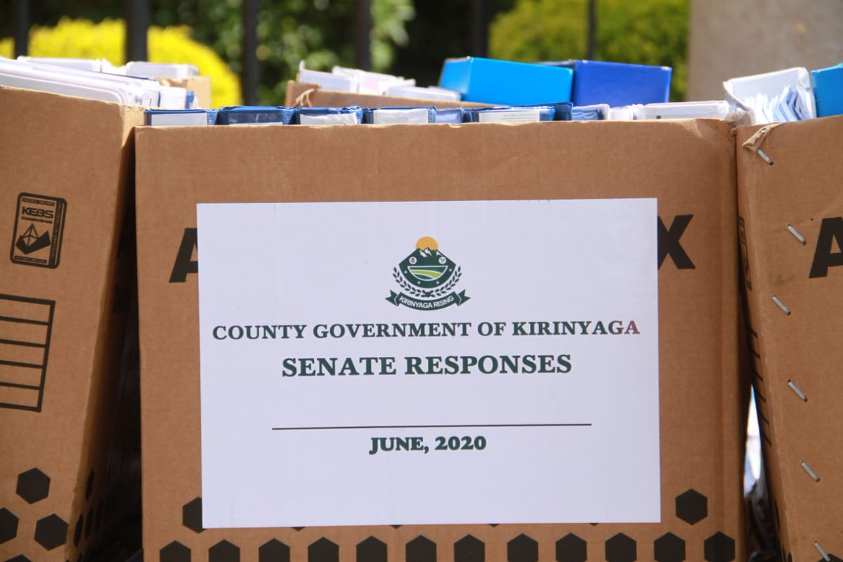 News Update Senate Select Commitee clears Kirinyaga Governor Anne Waiguru, finds that the County Assembly did not prove a direct link to the governor on allegations of gross misconduct, abuse of office and violation of procurement regulations. @citizentvkenya https://t.co/VSlJ3mSQyH