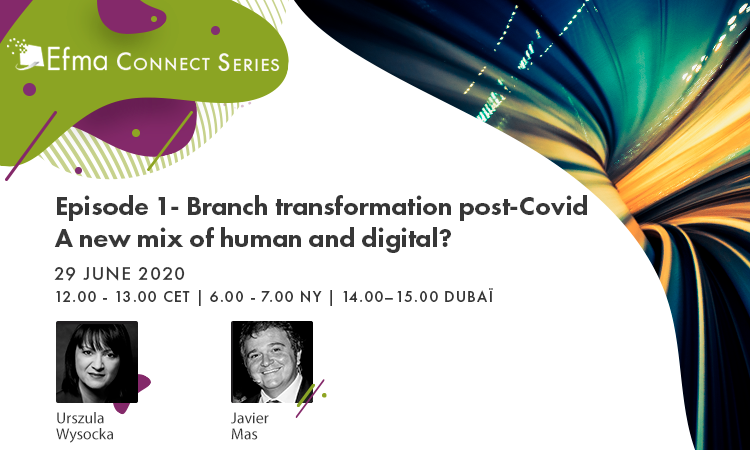 On 29 June, join #EfmaConnect with @Urszula66792772 & javier mas on best practices from those who are making the branch transformation with success and interactive discussions about the different perspectives for new formats. https://t.co/VMv6sPN9kM @Fahim_uz_zaman @lincolnteo https://t.co/96FJaGFATr