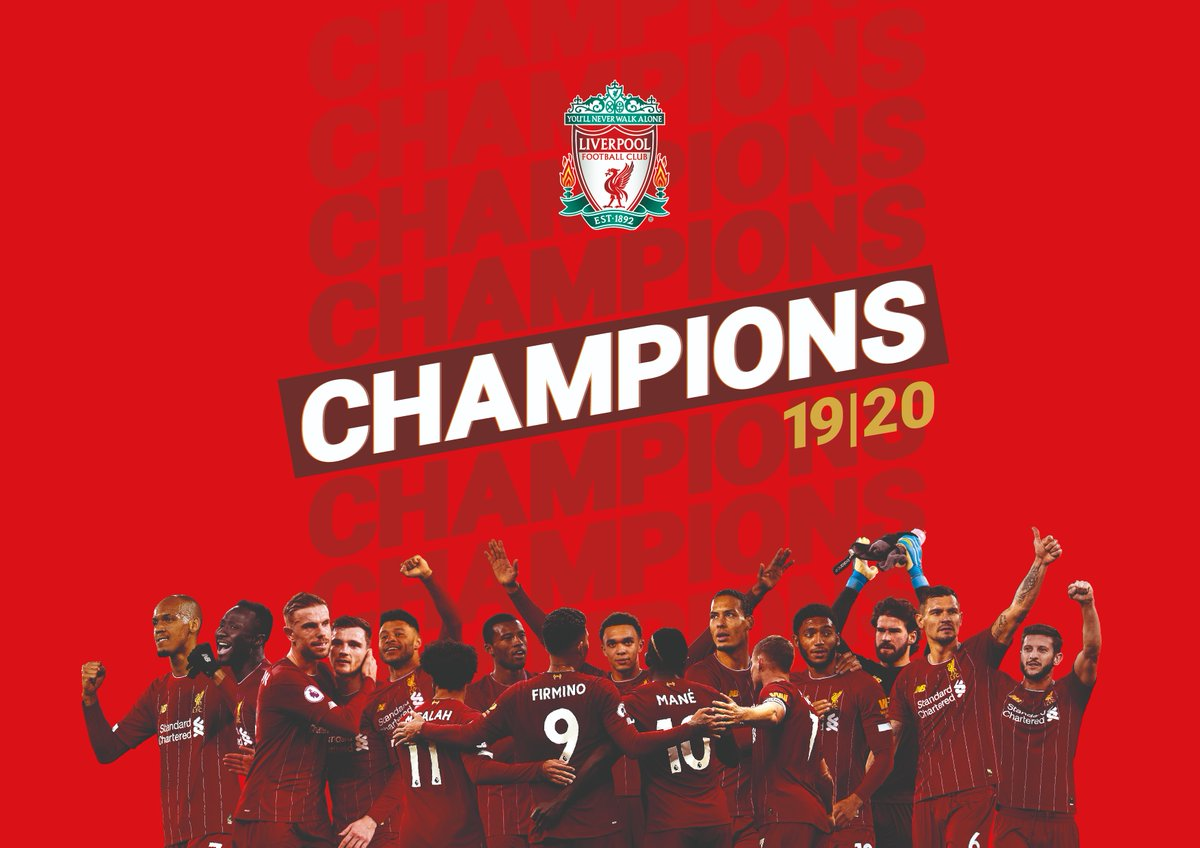 Congratulations,  Premier League Champions!   Proud partners of Liverpool FC | @LFC #liverpoolfc #Quorn