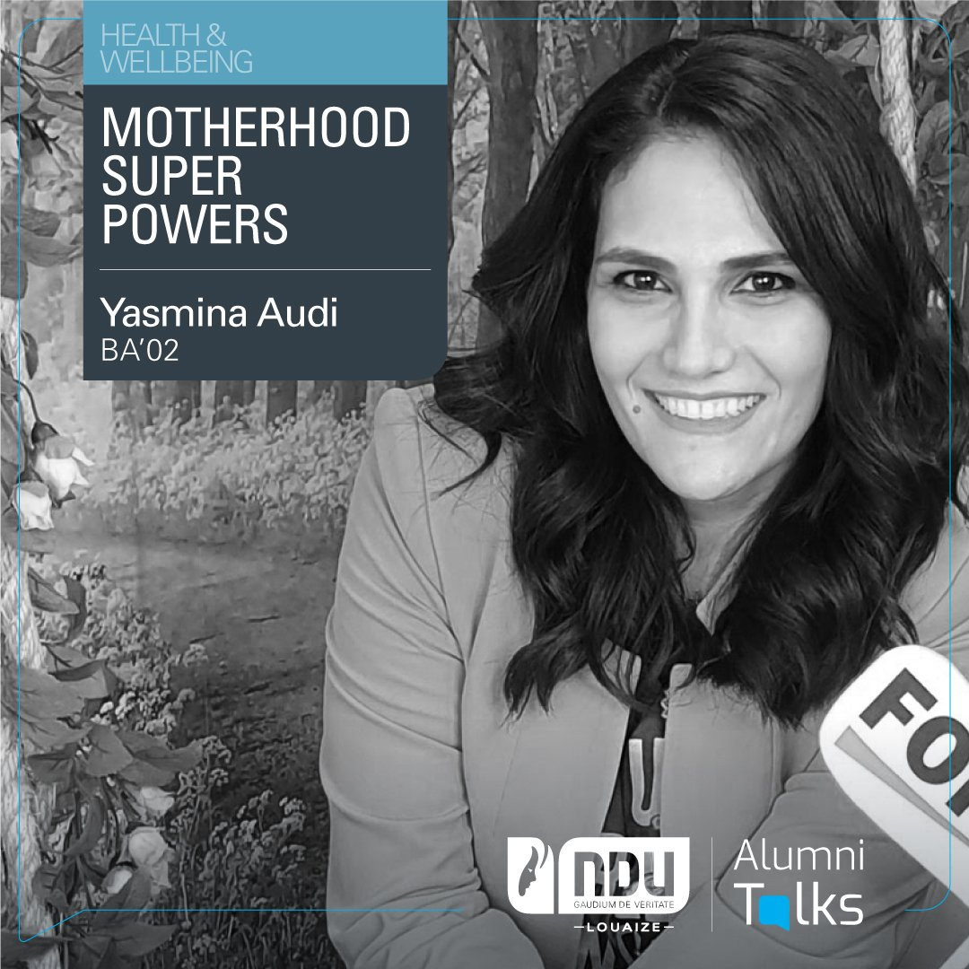 "June 27th at noon is the time for mothers to unlock their potential as Alumna @yasminaaudi (BA'02), Strategic Director at Ignium Consultants and founder of- Super Mama Arabia, gives her #AlumniTalks on ""Motherhood Super Powers"" Book your spot:  https://t.co/XYcHURn62w https://t.co/3DuHy5X5Ly"