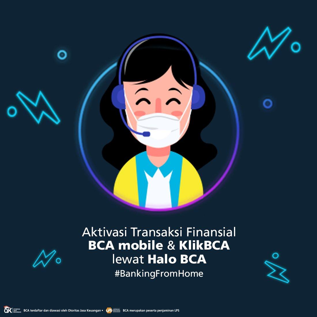 Punya BCA mobile & KlikBCA tapi cuma bisa cek saldo? Itu artinya 'Fitur Finansial' BCA mobile & KlikBCA Anda belum aktif. Anda bisa aktivasi Fitur Finansial #DiRumahAja lewat Halo BCA di 1500888 sampai 31 Juli 2020! #BankingFromHome Info https://t.co/4rWL90me2i https://t.co/7ceNpLEv6t