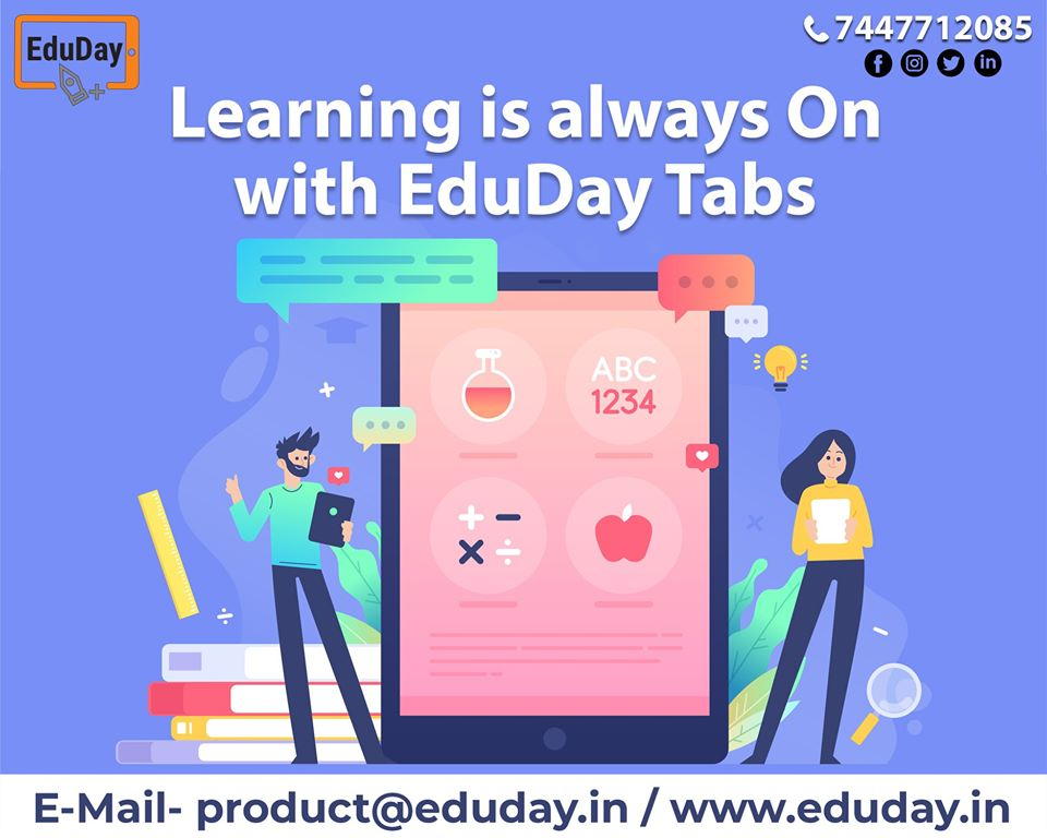 Transform Teaching, Inspire Learning and Deliver a world-class Student Experience.  Get in touch to know more:- Phone : +91 7447712085 E-Mail: product@eduday.in visit:- http://www.eduday.in   #eduday #edudayindia #pune #india #tab #tablets #CoachingInstitute #Coachingclassesspic.twitter.com/0lLamwiFYB