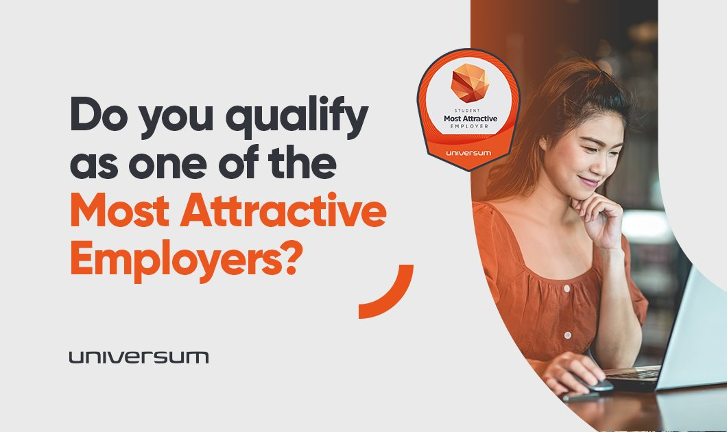 Do you think your organisation should appear on Universum's annual rankings? Take the first step to become a listed employer on our Most Attractive Employers ranking in your market by nominating your company! https://t.co/Jam4r6gMpj https://t.co/sMeQvhENYc
