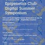 Image for the Tweet beginning: The Cambridge Epigenetics Club Summer