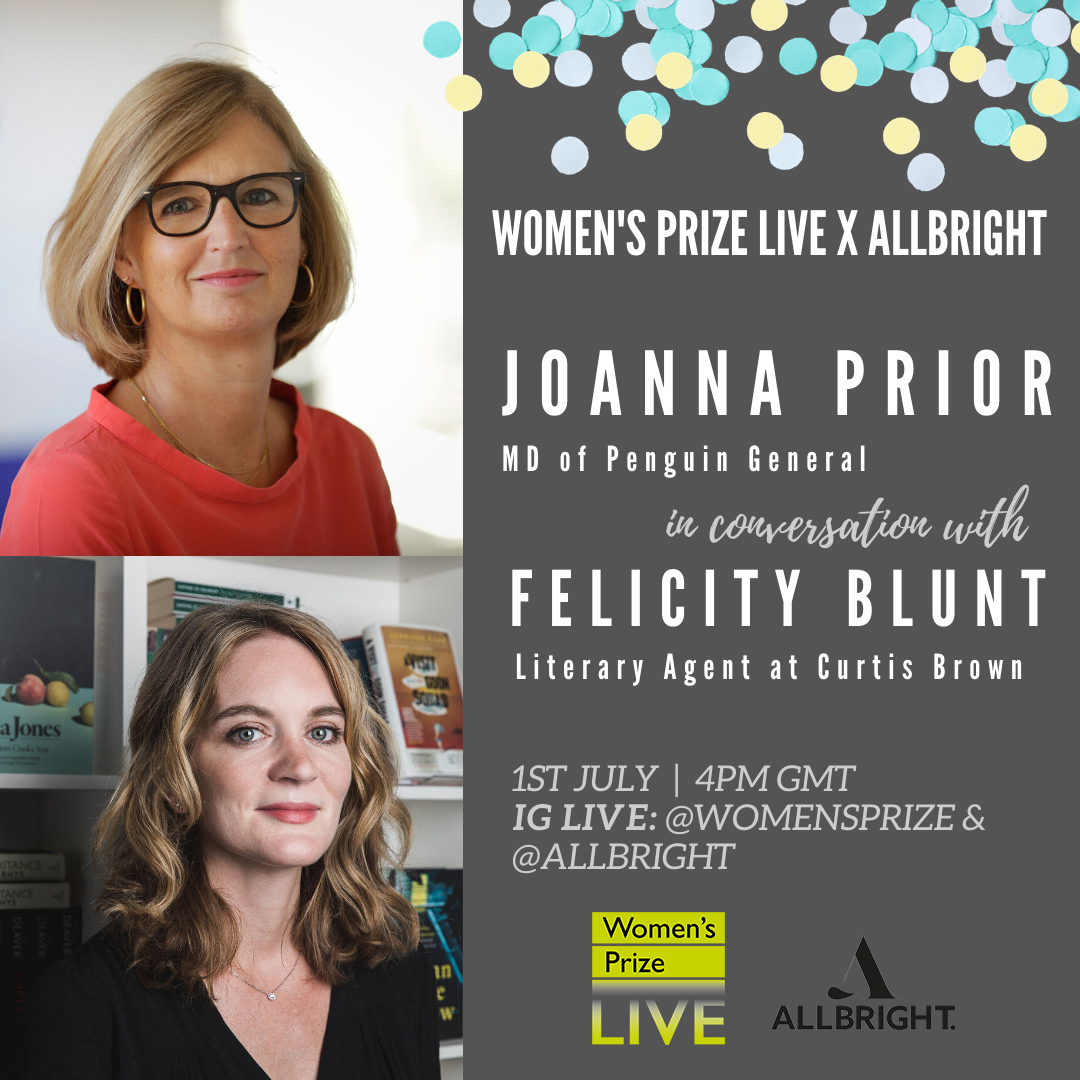 Join us on Wednesday for an IG Live with @PenguinUKBooks' MD Joanna Prior and @CBGBooks' agent Felicity Blunt.  There will be industry insight and thoughts on the impact of Covid-19 and the future of books.  Writers/ readers - comment with your questions now 👇 https://t.co/SFhUZ8wgKt