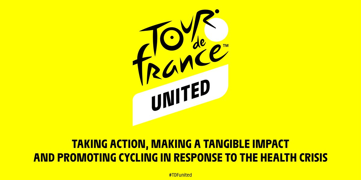 🇬🇧🔎What is the #TDFunited and how can I join?  🗓 When? From 27 June, to 20 September, when the riders will cross the line on the Champs-Elysées.  👍 The idea: helping 5⃣ associations that also believe in the social utility of cycling!   ⬇ All you need to know is here! https://t.co/ySquukds7t