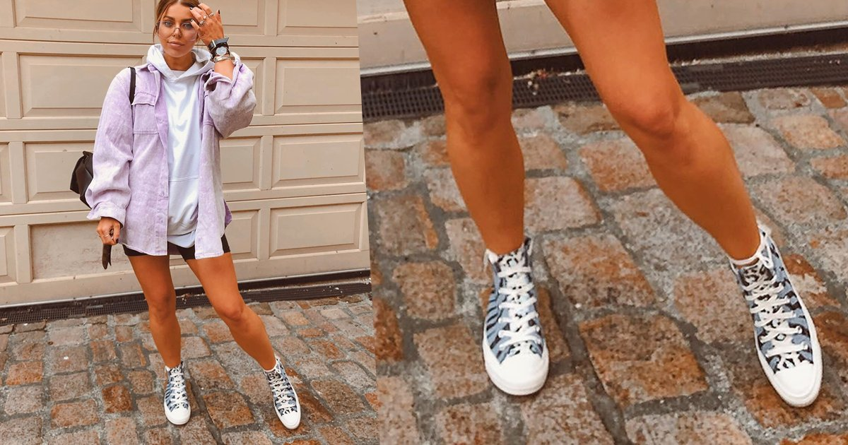 A zebra printed Converse is the summer shoe you need, trust us 📸 IG: beth_bartram https://t.co/LzY7a3LF20