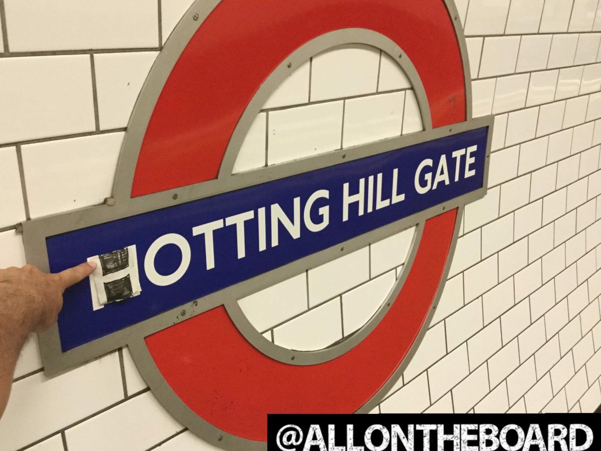 Notting Hill Gate is going to feel more like HOTting Hill Gate with this weather today. @allontheboard #NottingHill #HottingHill #NottingHillGate #Weather #allontheboard