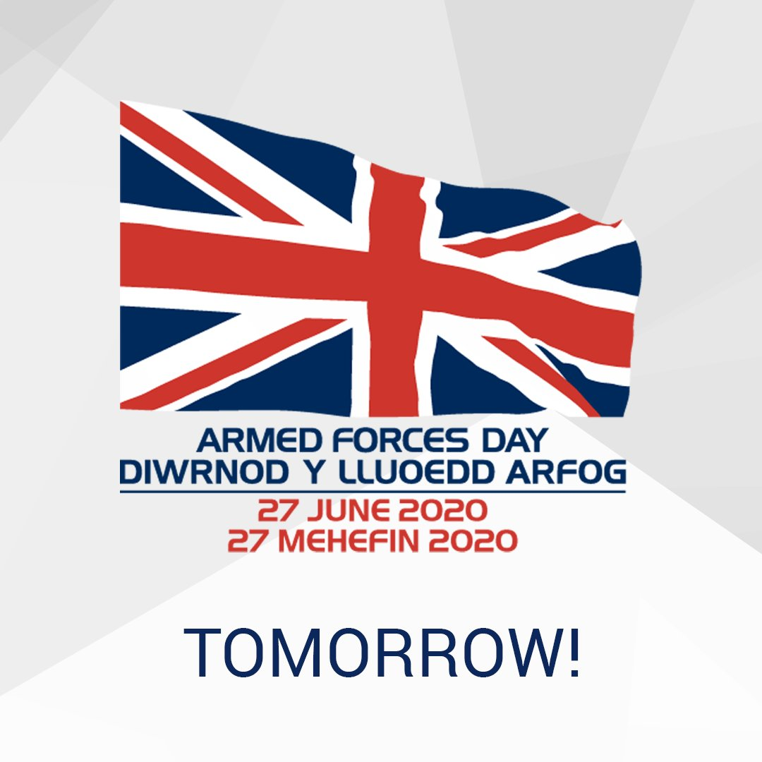 Dust off the bunting, it's time to celebrate!  Whether you're hosting an event at home or online there's plenty of goings on to celebrate #ArmedForcesDay tomorrow!  To find out what's going on locally visit the official AFD website - https://t.co/TLDBbr5fJt  (& please, stay safe) https://t.co/Wccj78LRKs